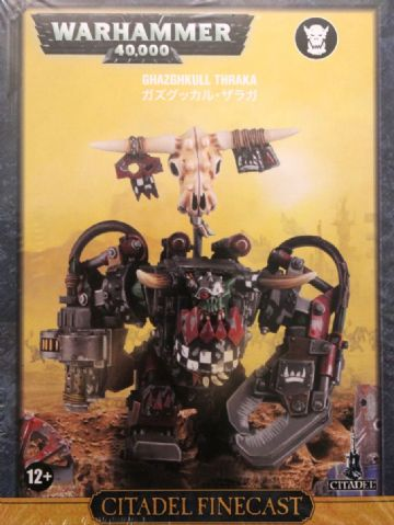 Games Workshop Warhammer 40000 40K Ghazghkull Thraka 50-40